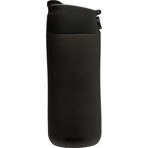 Aladdin reverse and Sip machine Insulated Mug, 12-Ounce, Black