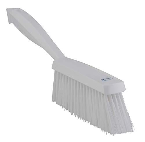 (Vikan 45875 Bench Brush, Polypropylene, Polyester Soft Bristle, 14
