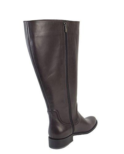 Marina Rinaldi Womens Lode Side Zip Boots, Bordeaux, Us 10 / It 40