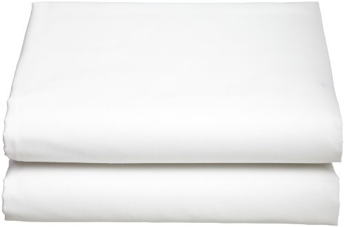 Cathay Luxury Silky Soft Polyester Single Fitted Sheet, Twin Size, White