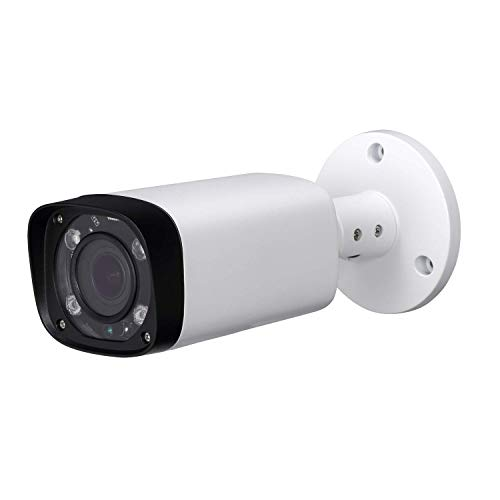 4MP IP POE Bullet Camera IPC-HFW4431R-Z, 2.7-12mm Motorized Varifocal Lens 4X Optical Zoom, Security Network CCTV Camera, 262ft IR Night Vision, Smart H.265+, WDR DNR, IP67, Onvif