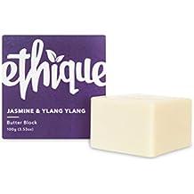 Ethique Eco-Friendly Butter Block, Jasmine & Ylang Ylang 3.53 oz