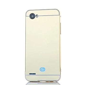 Funda® Espejo Metal Duro Cáscara Funda para LG Q6/LG Q6 Plus/LG G6 ...