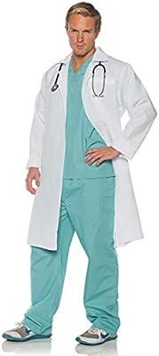 Horror-Shop Cirujanos Traje de médico con Bata One Size: Amazon.es ...