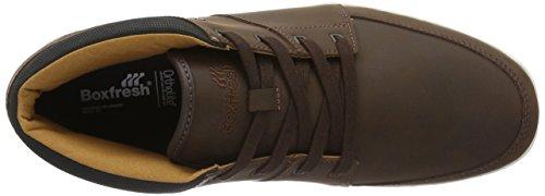 Boxfresh Cluff Sh Lea/Rblea Tfe/Blk - Zapatillas Hombre marrón (marrón)