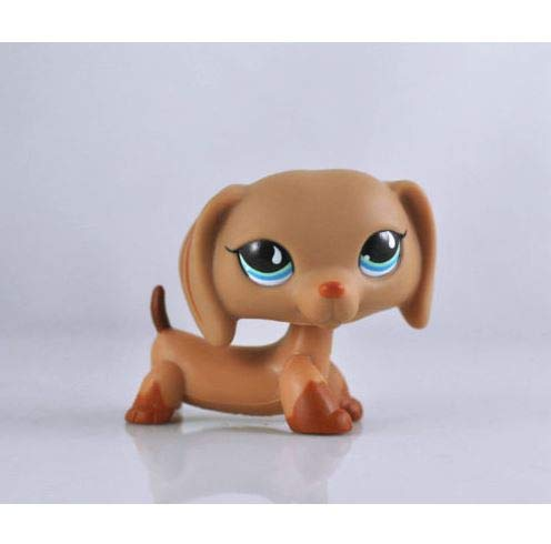 Littlest pet Shop Collection LPS#28 Figure Brown Dachshund Puppy Dog (Littlest Pet Shop 28)