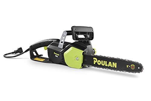 Poulan PL1416, 16 in. 14-Amp Corded Electric Chainsaw (Renewed)