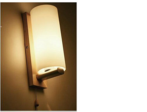 Jingzou Glass bedroom bedside simple wall lamp modern stairs aisle living room balcony 251934cm