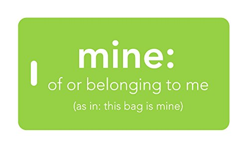 Mine Luggage Tag - Luggage Tag - mine: of or belonging to me