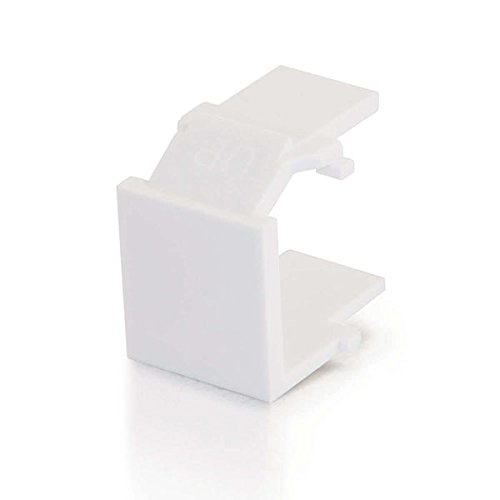 C2G/Cables to Go 03820 Snap-In Blank Keystone Insert Module (Go Audio Distribution Modules)