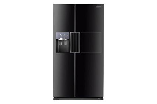 Amerikanischer Kühlschrank Schwarz : Samsung rs fhcbc u amerikanischer kühlschrank freistehend