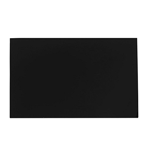 Uxcell a15041500ux0362 2 mm Thick Black Plastic Acrylic Plexiglass Sheet A4 Size 210 mm x 297 mm