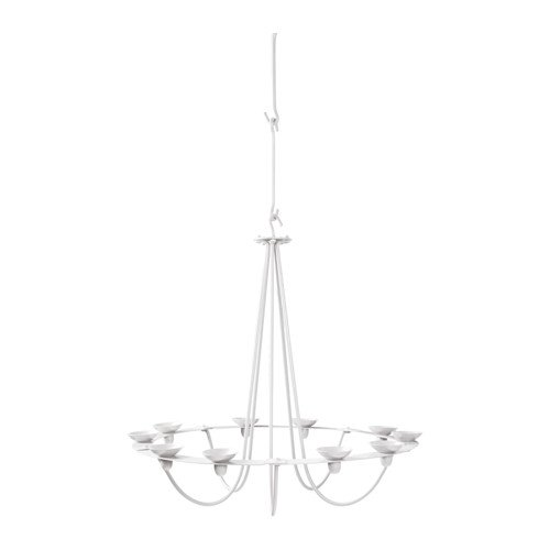 Ikea vssad height adjustable 10 candle chandelierceiling ikea vssad height adjustable 10 candle chandelierceiling chandelier with detachable holder make the aloadofball