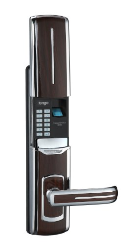 Biometric Fingerprint Door Lock + Digits Pad + Mechanical Key (left or right handed open, brown or black) INTERIOR DOORS ONLY