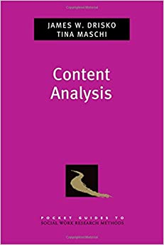 Content Analysis (Pocket Guides to Social Work Research Methods)