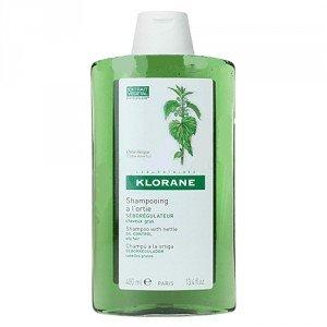 KLORANE Seboregulating shampooing à l'ortie extrait 400ml