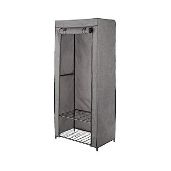 Amazon Com Threshold Double Rod Metal Freestanding Closet