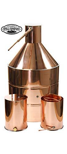 North Georgia Still Company 20 Gallon Copper Moonshine Still with Ball Valve Drain Port, 3 Gallon Worm & 3 Gallon Thumper with 1/2 OD Copper Tubing & by North Georgia Still Company price tips cheap