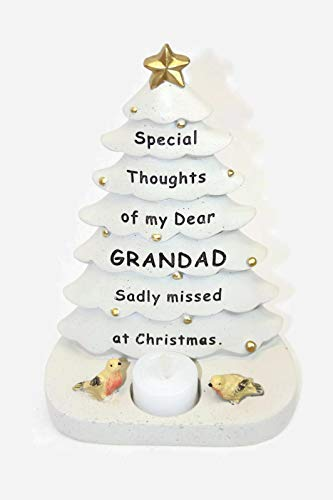 Bauble Tree Thinking of You Grandad Decoration Christmas
