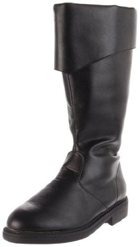 Funtasma by Pleaser Men's Halloween Captain-105,Black,M (US Men's 10-11 (Costume Boots Mens)