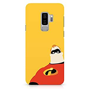 Loud Universe The Hero Inscredibles Samsung S9 Plus Case Minimal Art Incredibles Samsung S9 Plus Cover with 3d Wrap around Edges