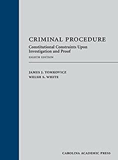 Criminal Procedure: Constitutional Constraints upon Investigation and Proof (1522105441)   Amazon price tracker / tracking, Amazon price history charts, Amazon price watches, Amazon price drop alerts
