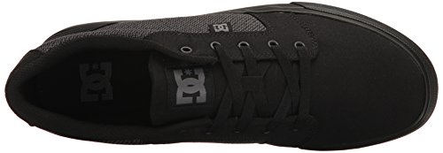DC Men's Anvil TX SE, Black/Dark Shadow, 8 D US