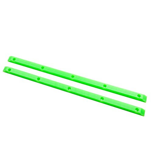 "Bones Rib 14.5"" Lime Green Skateboard Rails"