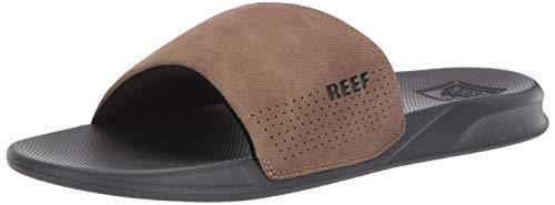 Reef Men's One Slide, brown, 110 M US (Slides Mens Brown)