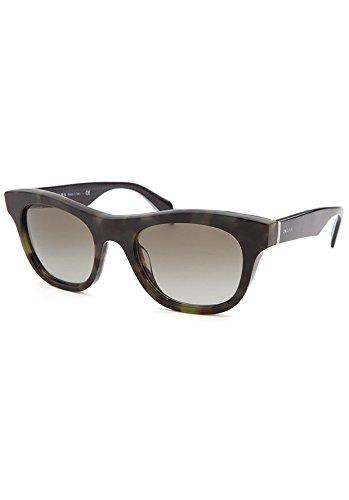Prada PR04QS Sunglasses-LAB/4M1 Green Havana (Green Gradient - Prada Outlet
