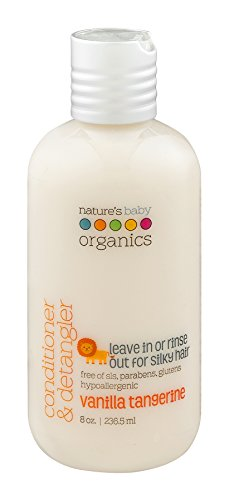 Natures Baby Organics Conditioner And Detangler Vanilla Tang