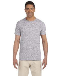 Gildan Men's Softstyle Ringspun T-shirt - Medium - Sport Grey