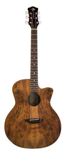 Luna Guitars Gypsy Spalt Grand Auditorium Acoustic-Electric Guitar (Luna Gypsy Spalt Grand Auditorium Acoustic Electric Guitar)