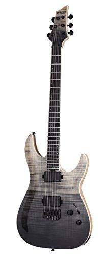 Schecter 6 String Solid-Body Electric Guitar, Black Fade Burst (1351)
