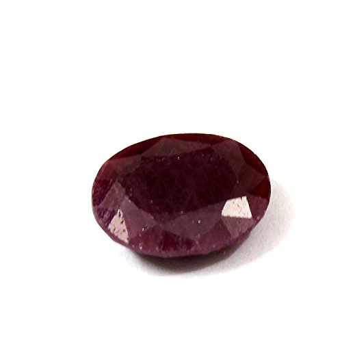 Be You 5.8cts Rouge Couleur Facettes Ovale Forme Naturel Indien Rubis