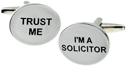 Trust me Im a Solicitor Cufflinks