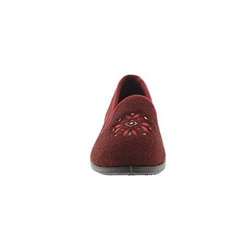 Clarks Marsha Rose - Burgundy Felt 3 UK