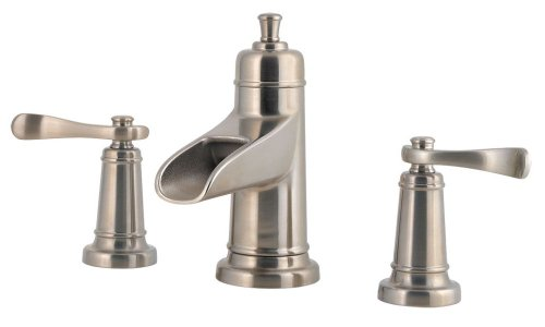 California Faucets Widespread Faucet - Pfister F049YW1K Ashfield 2-Handle 8