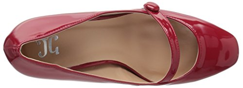 Brinley Co Womens Delia Pump Rosso