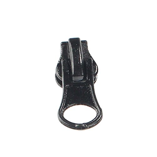 - Heavy Duty Bulk #5 Delrin Zipper Pulls for Upholstery, Sewing, Arts and Crafts (Non-Separating) 20 Pulls - BambooMN
