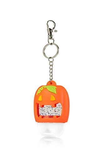 Bath & Body Works PocketBac Hand Gel Holder Light Up Jack O' Lantern -