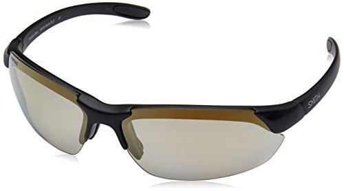 Smith Optics Parallel Max Sunglasses, Matte Black Frame, Polarized Gold Mirror/Ignitor/Clear Lenses