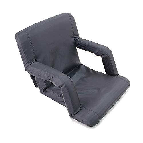 DLLzq Portable Folding Stadium Seats,Enjoy Padded Cushion Backs and Armrest Support for Bleachers
