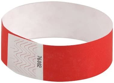 100 x Tyvek I.D Bracelets Safe /& Waterproof EVENT PARTY MIXED Colours supplied