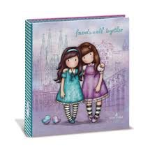 CARPETA TAMAÑO A-5 GORJUSS FRIENDS WALK TOGETHER