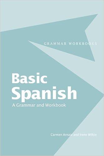 Amazon com: Basic spanish: (Grammar Workbooks