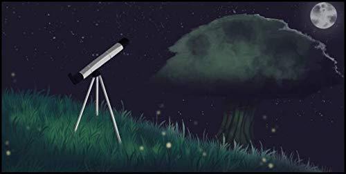 Eidecot 5D Diamond Painting Kit Telescope Fireflies Rhinestone Painting by Number Kits
