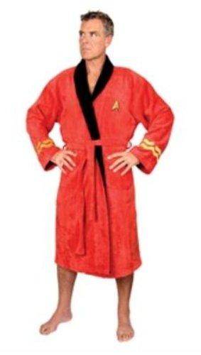 Star Trek Scotty Red Adult Men's Bath Robe