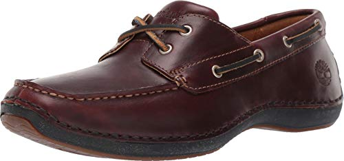 Timberland Men's Annapolis 2 Eye Moc Toe Brown 9.5 D US