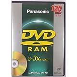 Panasonic 5 Pack DVD-RAM Discs for Video and Data 120 min. / 4.7GB - 2x-3x Speed